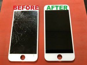 How to repair your iPhone screen glass?